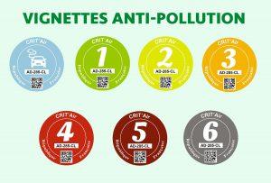 vignettes anti-pollution