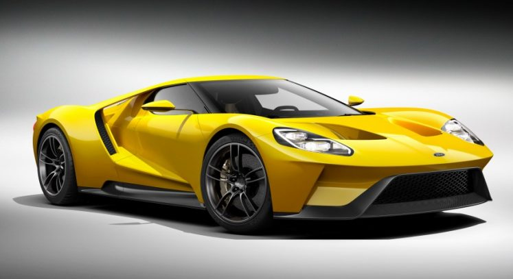 performante ford gt 2017 édition canadienne limitée jaune