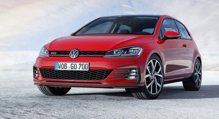 VW golf R 2017 rouge