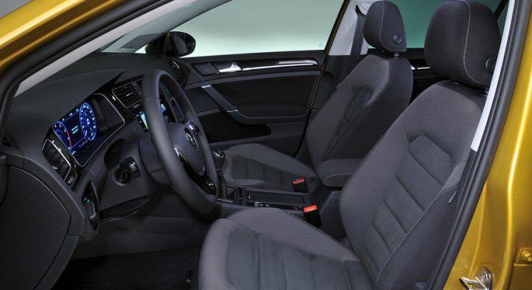 VW golf R 2017 interieur