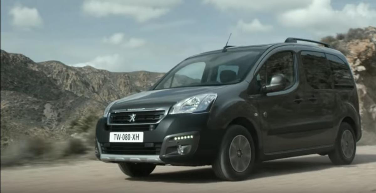 Nouveau Peugeot Partner Tepee
