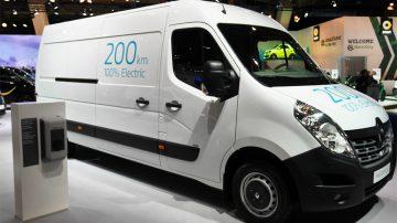 fourgon électrique de Renault