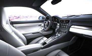 interieur carrera 911 gts4 2017
