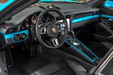nouveau carrera 911 gts4 2017 interieur