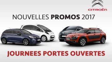 promotions Citroën 2017