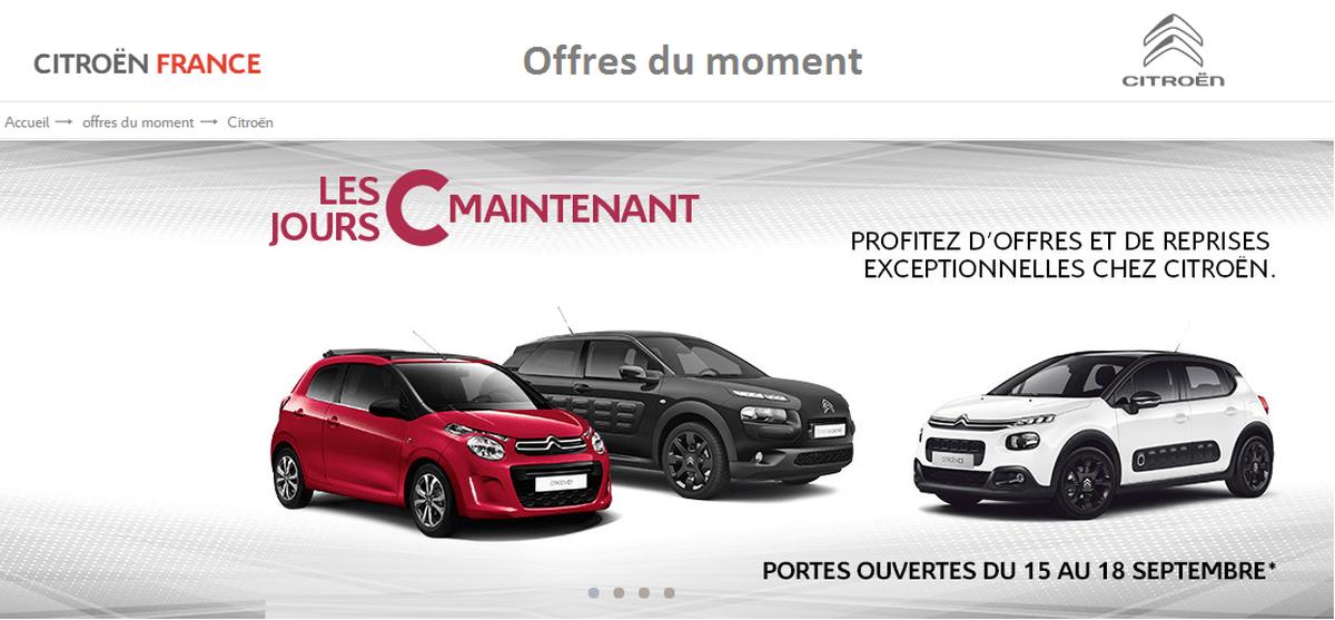 Portes ouvertes Citroën Septembre 2017