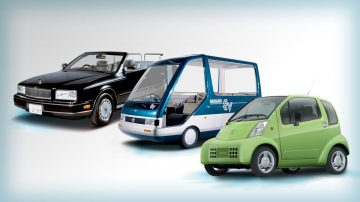 Première voiture électrique histoire