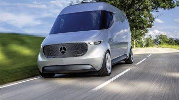 L'utilitaire électrique de Mercedes