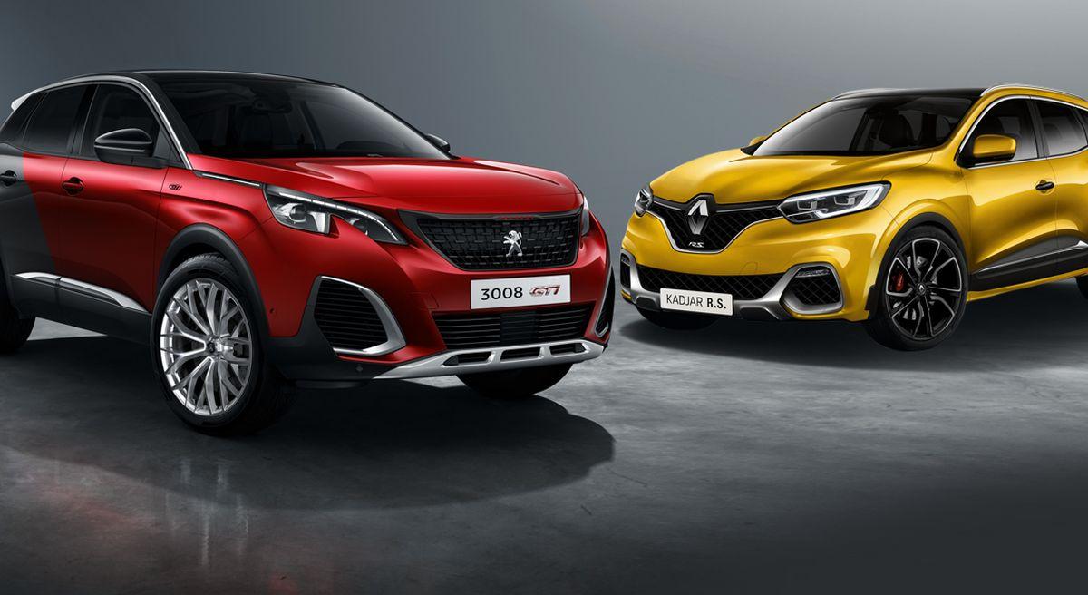 Peugeot-3008-gti-vs-renault-kadjar-rs