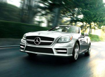nouveau Mercedes SLC en photos