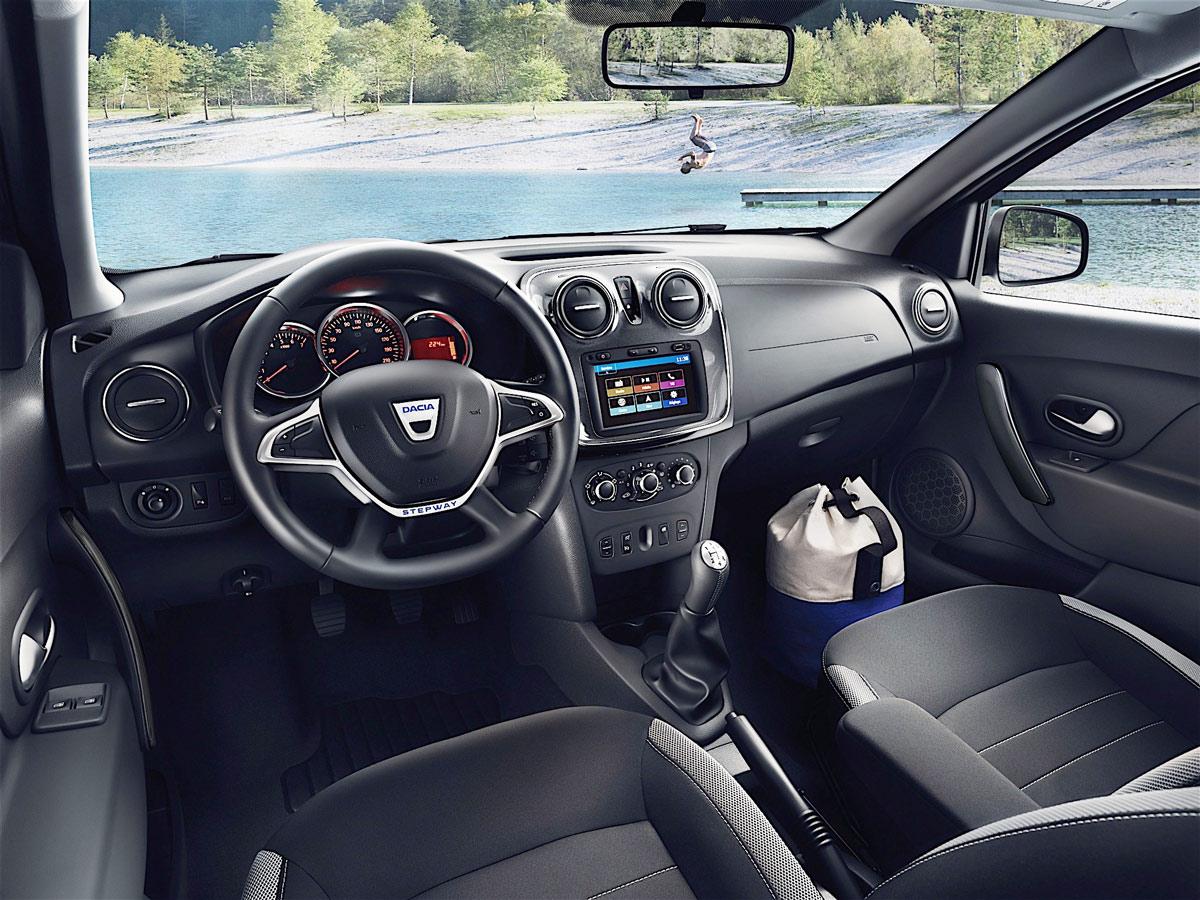 Dacia Duster 2018 intérieur