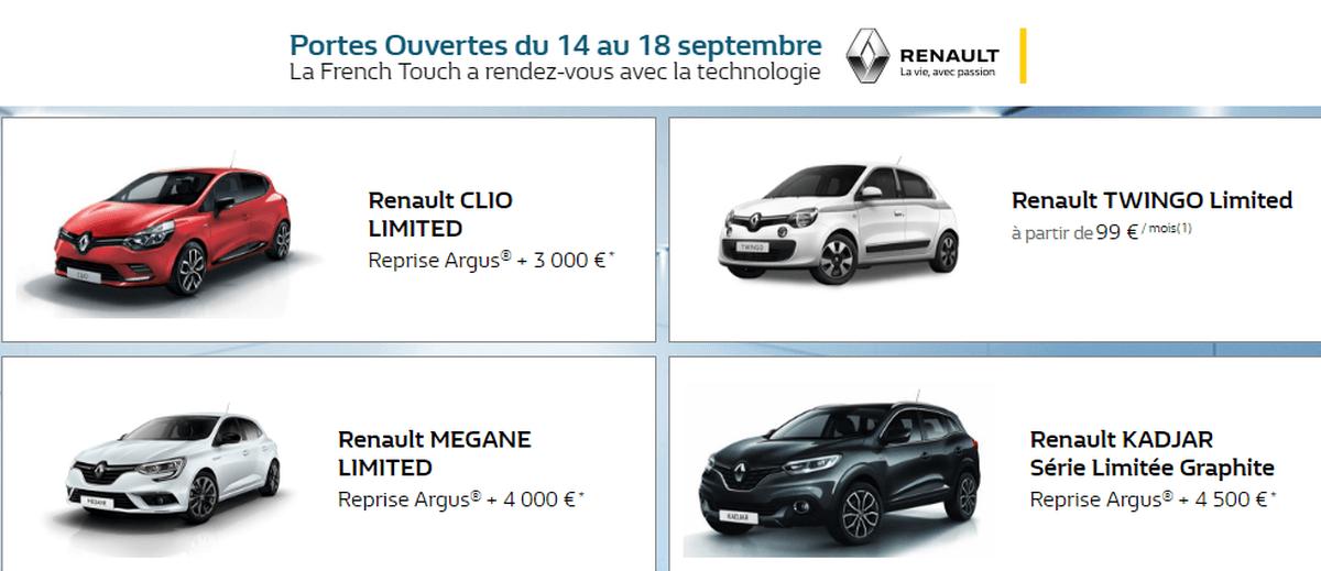 Portes Ouvertes Renault Septembre 2017