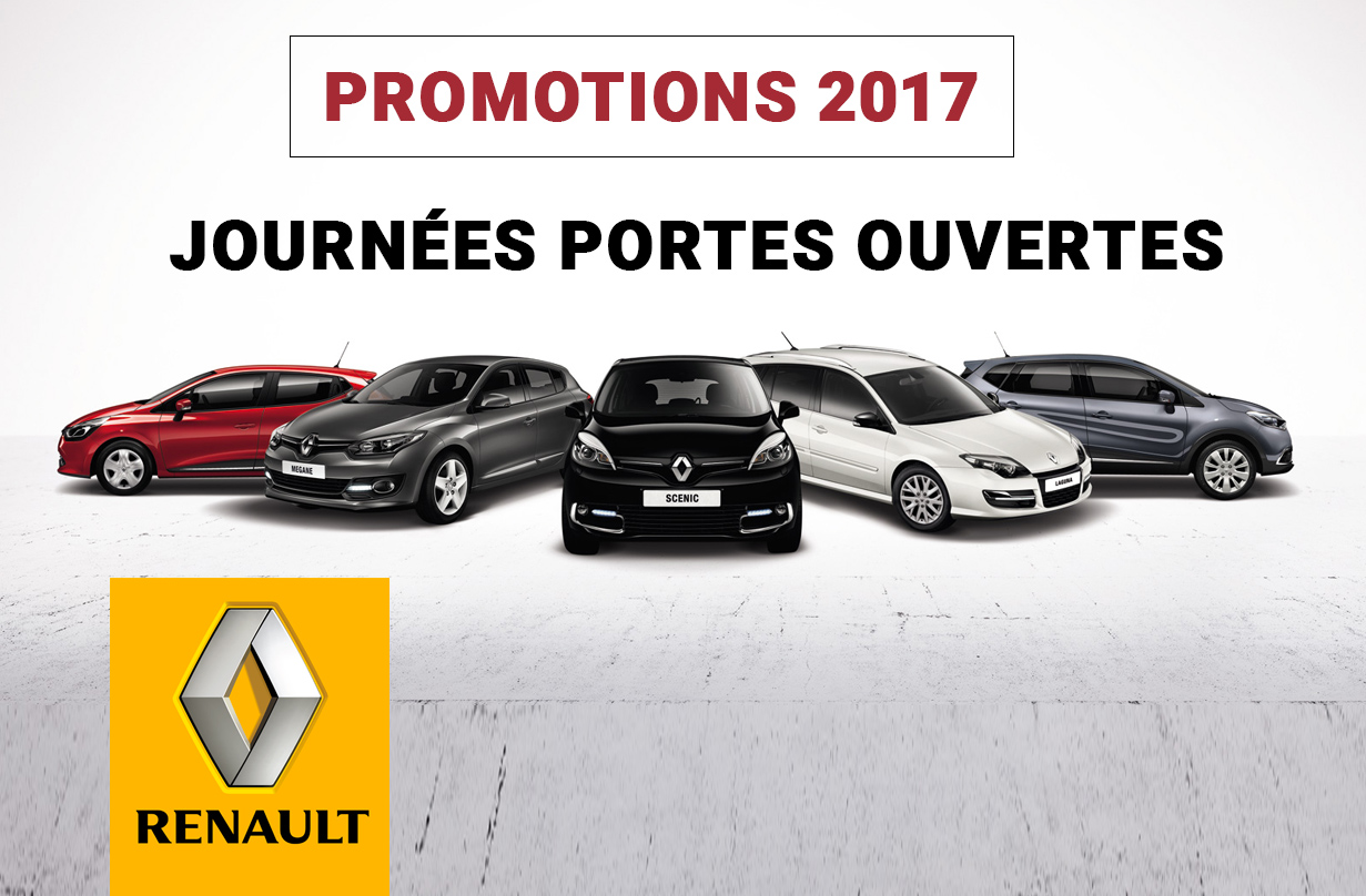 promotions renault 2017