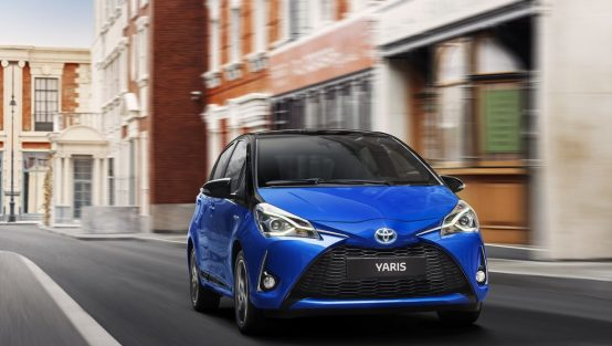 nouveau Toyota Yaris hybride 2017