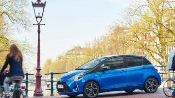 Nouveau Toyota Yaris hybride 2018