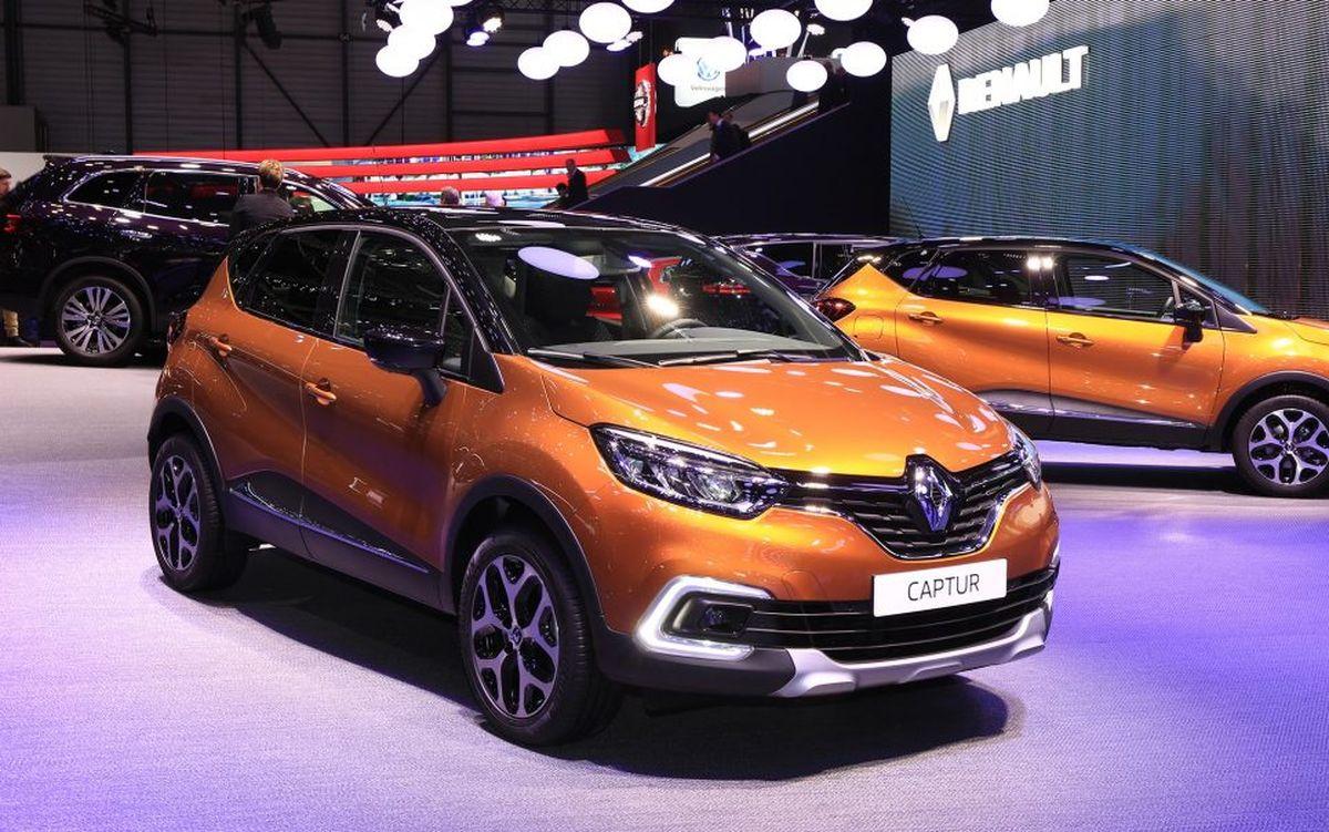 Nouveau Renault Captur restylé 2017