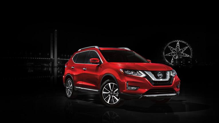 SUV Nissan X-Trail semi-autonome