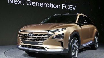 Nouveau SUV Hyundai hydrogène