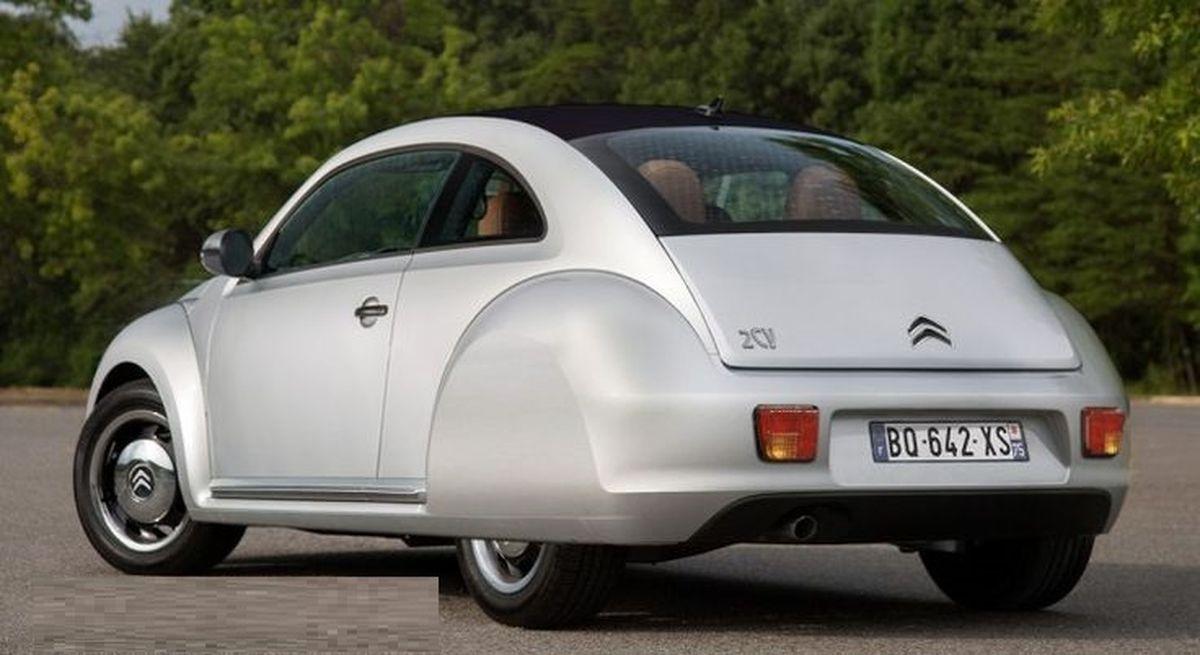 Nouvelle Citroën 2CV arrière