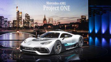 Performances nouvelle Mercedes AMG Project One