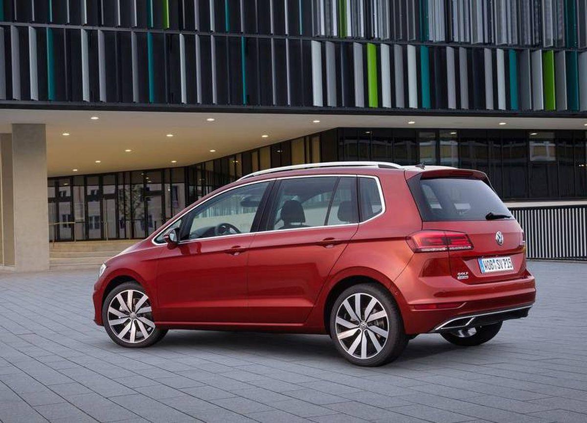 VW Golf Sportsvan 2018